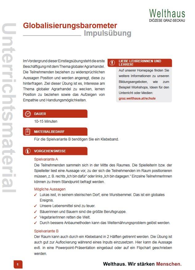 Globalisierungsbarometer