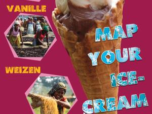 Map your ice cream Ausstellung