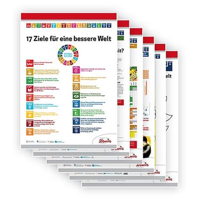 Plakatserie 17 Ziele für eine bessere Welt