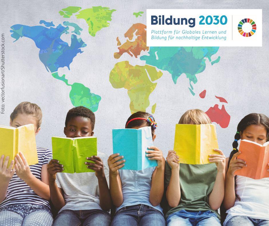 Plattform Bildung2030 Header+Logo