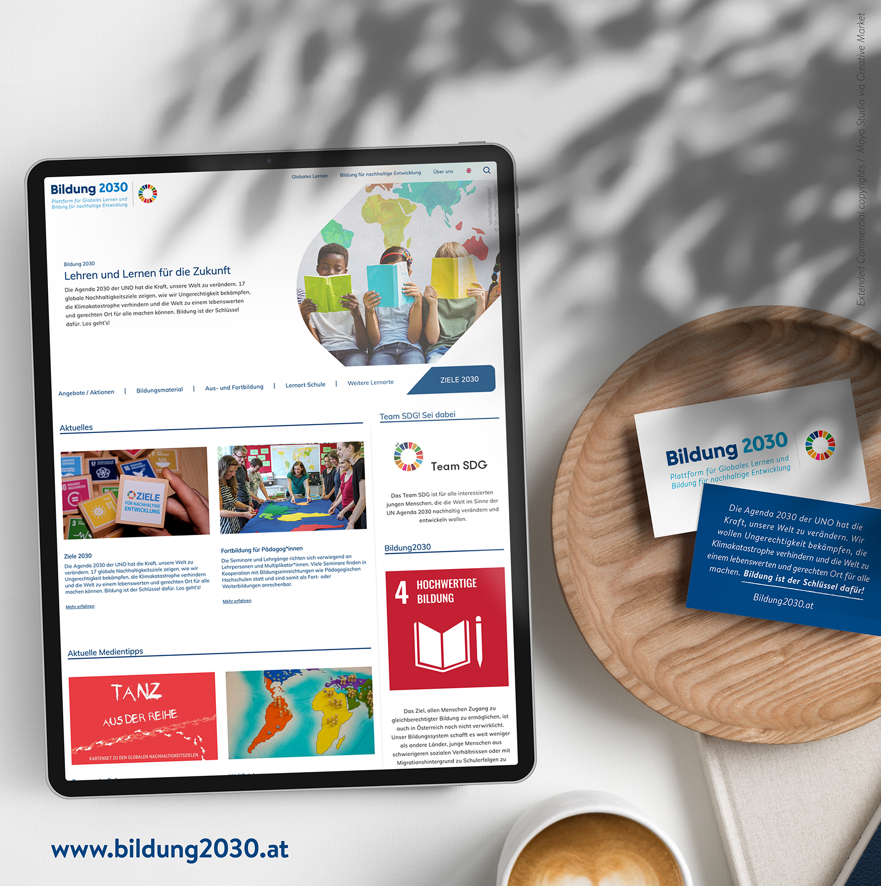Mockup Bildung2030