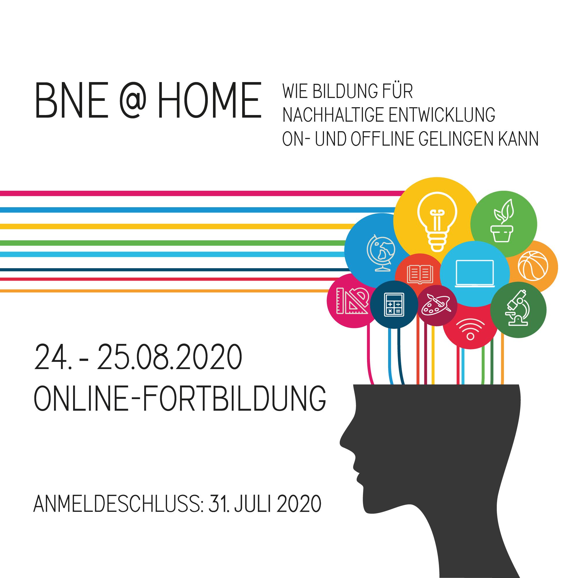Cover des Programmfolders zur BNE Sommerakademie