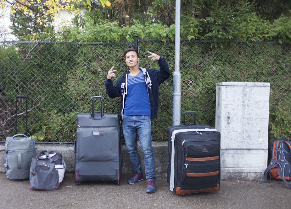 Flucht nach Österreich